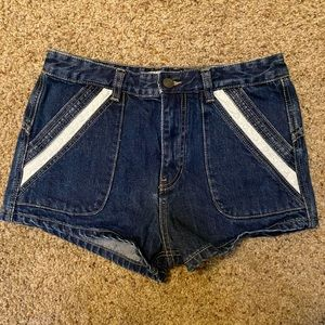 Free People Denim Shorts- Size 28 (NWOT)